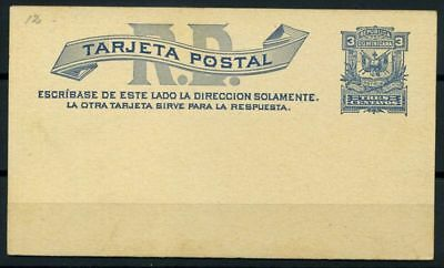 Dominican Republic 1899 Mi. Y1 Postal stationary 100% Postal Stationery