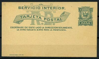 Dominican Republic 1899 Mi. Y2 Postal stationary 100% Postal Stationery