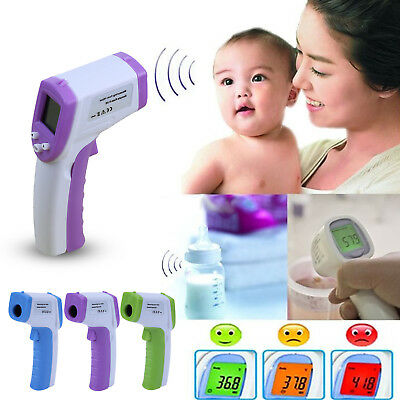 Non-Contact Forehead Infrared Digital Thermometer Baby Adult Body Medical Care