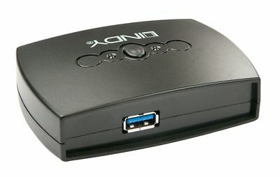 LINDY USB 3.0 Switch 2 Port 43141