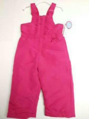 8 New Infant Girls 12M & 18M Wonder kid's Pink Snowpants w/ Tags Attached