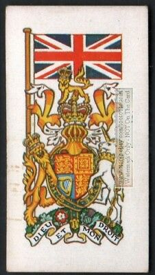 Flag And Standard - Banner For United Kingdom c50 Y/O Trade Ad  Card
