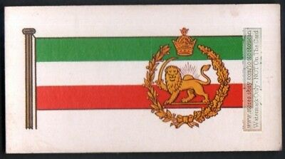 Flag And Standard - Banner For Iran c50 Y/O Trade Ad Card