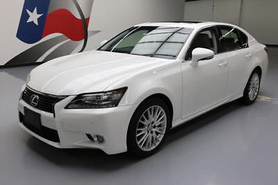 2013 Lexus GS Base Sedan 4-Door 2013 LEXUS GS350 PREM SUNROOF NAV CLIMATE SEATS 62K MI #023269 Texas Direct Auto