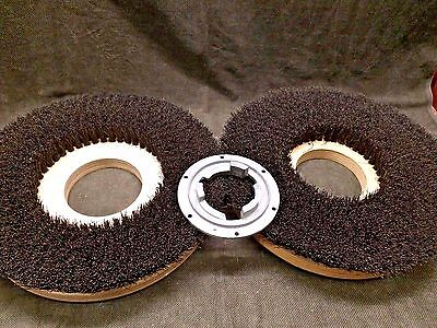 "2 each NEW Scrubber Brush 16"" Replacement Blank centers"