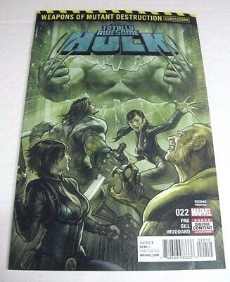 Totally Awesome Hulk #22 Weapons Of Mutant Destruction 2Nd Printing $3 Flat Ship