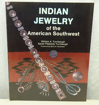 1988 Schiffer PB Book Indian Jewelry of the American Southwest by Turnbaugh