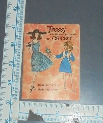 Vintage 1960's Tressy and Cricket Booklet