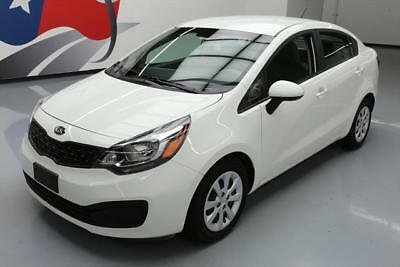 2015 Kia Rio EX Sedan 4-Door 2015 KIA RIO LX SEDAN AUTOMATIC A/C SAT RADIO ONLY 22K #461039 Texas Direct Auto