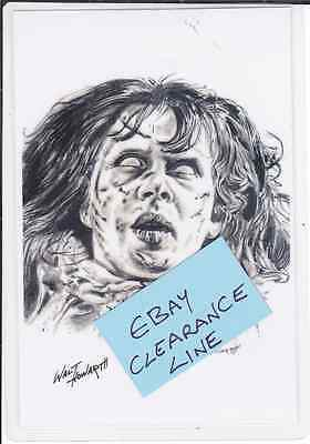 Photo Art Card THE EXORCIST - Clearance Line - Only £1 POSTFREE