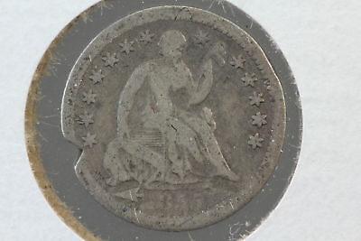 1853-O Half Dime AG ARROWS