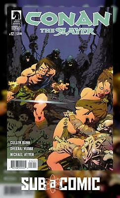 CONAN THE SLAYER #12 (DARK HORSE 2017 1st Print) COMIC