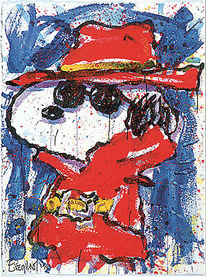 Tom Everhart Undercover in Hollywood Signed LE SOLD OUT Snoopy Peanuts