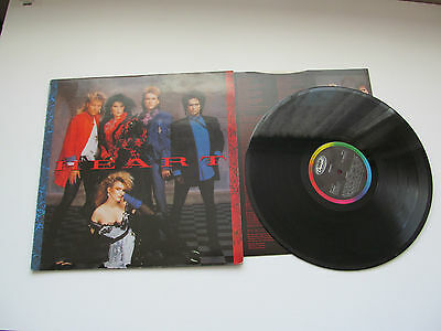 Heart - Heart. 1985 Capitol Lp With Inner Sleeve