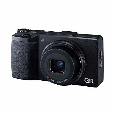 Ricoh GR II Digital Camera (Black) *Factory Refurbished*