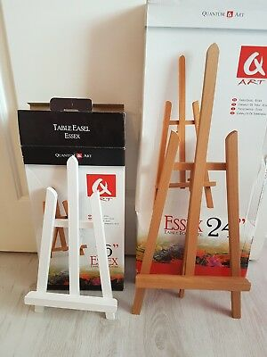 "White 16"" Easel Beech 24"" Easel Wedding Table Plan Brand New"