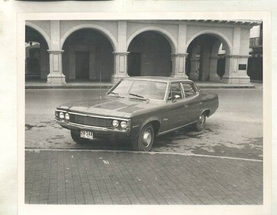 1972 Rambler Classic in Mexico ORIGINAL Photograph wy5628