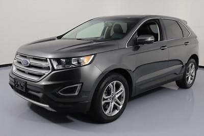 2016 Ford Edge Titanium Sport Utility 4-Door 2016 FORD EDGE TITANIUM ECOBOOST NAV HTD LEATHER 40K MI #B23433 Texas Direct