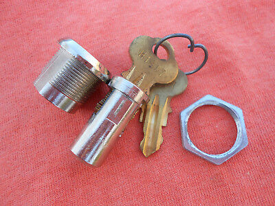 Chicago Lock Gumball Machine Lock and keys with Barrel Housing Assembly Set