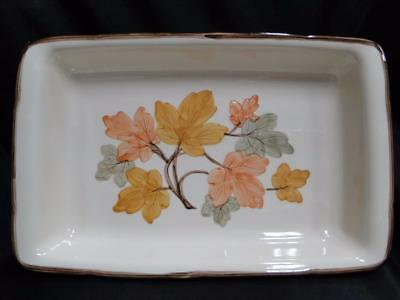 "Franciscan (USA) October, Fall Leaves: Rectangular Baker AS IS 13 3/4"" x 8 3/4"""