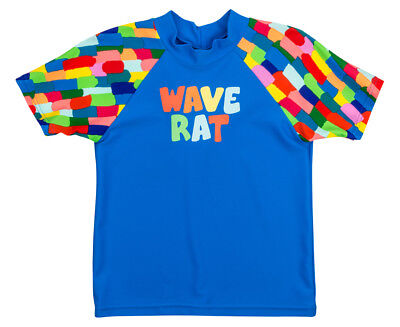 WaveRat Baby/Toddler Boys' Block City Rash Vest - Blue