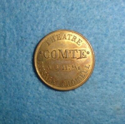 Magicians Token -- Comte, Kuethe MT-69, UNCIRCULATED