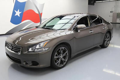 2013 Nissan Maxima  2013 NISSAN MAXIMA 3.5 SV SPORT TECH SUNROOF NAV 30K MI #845802 Texas Direct