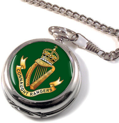 Connaught Rangers Full Hunter Pocket Watch (Optional Engraving)
