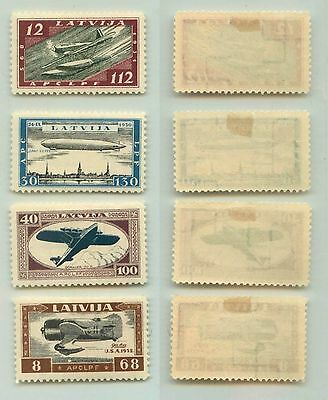Latvia, 1933, SC CB21-CB24, mint. f4554