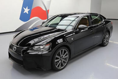 2014 Lexus GS Base Sedan 4-Door 2014 LEXUS GS350 F-SPORT SUNROOF NAV REAR CAM 27K MILES #043160 Texas Direct