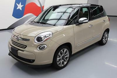 2015 Fiat 500L Lounge Hatchback 4-Door 2015 FIAT 500L LOUNGE HATCHBACK PANO SUNROOF NAV 6K MI #031011 Texas Direct Auto