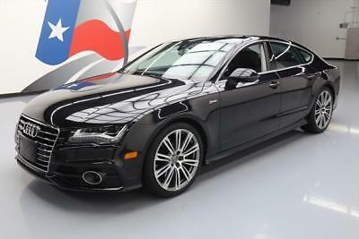2012 Audi A7 Base Hatchback 4-Door 2012 AUDI A7 3.0T PRESTIGE AWD NIGHT VISION NAV 46K MI #002368 Texas Direct Auto