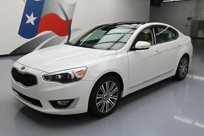 2015 Kia Cadenza  2015 KIA CADENZA PREMIUM LUXURY PANO SUNROOF NAV 7K MI #187310 Texas Direct Auto