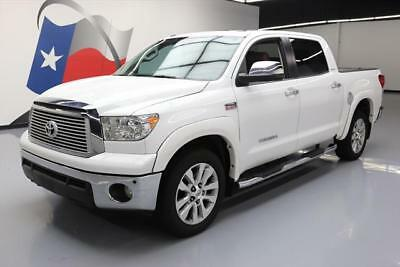 2013 Toyota Tundra Platinum Extended Crew Cab Pickup 4-Door 2013 TOYOTA TUNDRA PLATINUM CREWMAX SUNROOF LEATHER NAV #134488 Texas Direct