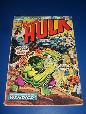 Incredible Hulk #180 Bronze Age 1st Wolverine Huge Key Solid Book with MVS Wow