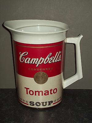Vintage Campbell Soup Thermos/Pitcher