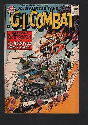 G. I. Combat #108 VG- 3.5 Cream to Off White Pages
