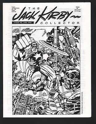 The Jack Kirby Collector Magazine #3 NM- 9.2 White Pages