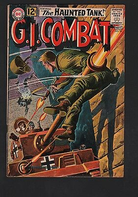 G. I. Combat #96 VG+ 4.5 Cream to Off White Pages Grey Tone Cover