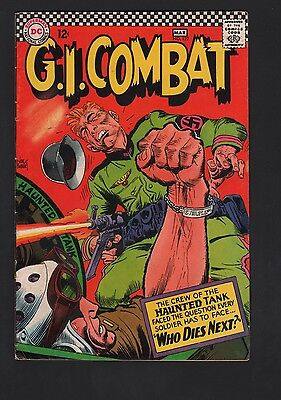 G. I. Combat #122 VG 4.0 Off White to White Pages
