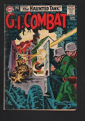 G.I. Combat #102 G/VG 3.0 Cream to Off White Pages Grey Tone Cover