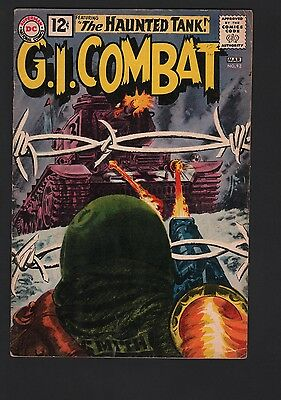G.I. Combat #92 G/VG 3.0 Cream to Off White Pages GREY TONE COVER