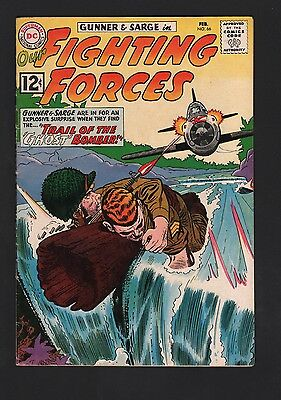 Our Fighting Forces #66 VG/F 5.0 Cream to Off White Pages Roy Lichtenstein Panel