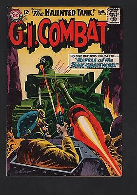 G. I. Combat #109 VG/F 5.0 Cream to Off White Pages Grey Tone Cover