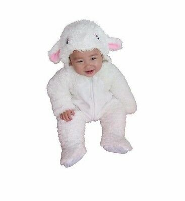 Plush Lamb Costume Totally Ghoul 6-12 Month Halloween or Christmas Pageant Soft