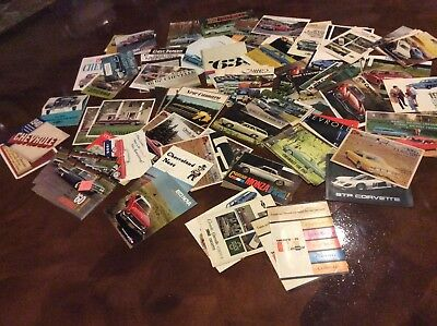 CHEVROLET 1940 - 1970 s BROCHURE CATALOG LARGE LOT OF 125+ NO RESERVE