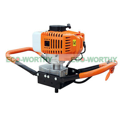Cordless Portable Drill 52CC Earth Auger Borer Electric Post Hole Digger On Sale