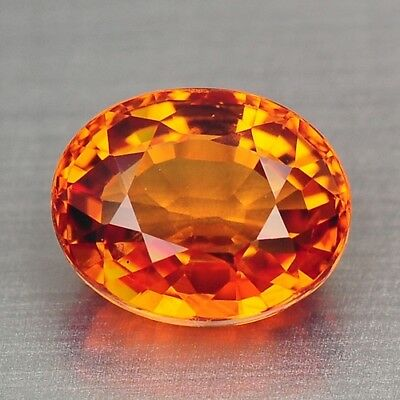 1.13 Cts FANCY TOP QUALITY ORANGE YELLOW COLOR NATURAL CEYLON SAPPHIRE