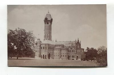 Allahabad photographer - unknown building - 1918 India real photo postcard