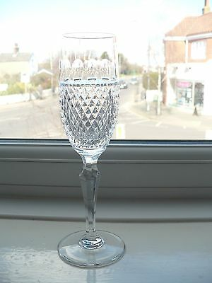 Wedgwood Crystal Champagne Flute - Signed -